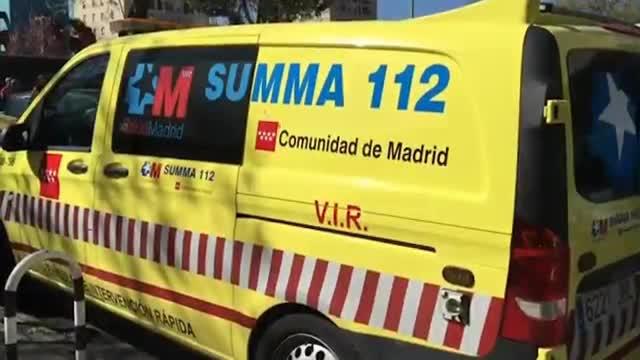 Un home dispara a la seva exparella i s'atrinxera en un pis de Madrid