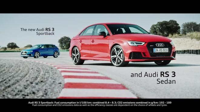 El nuevo motor de cinco cilindros del RS 3 permite un estilo de conducción deportiva sin igual.