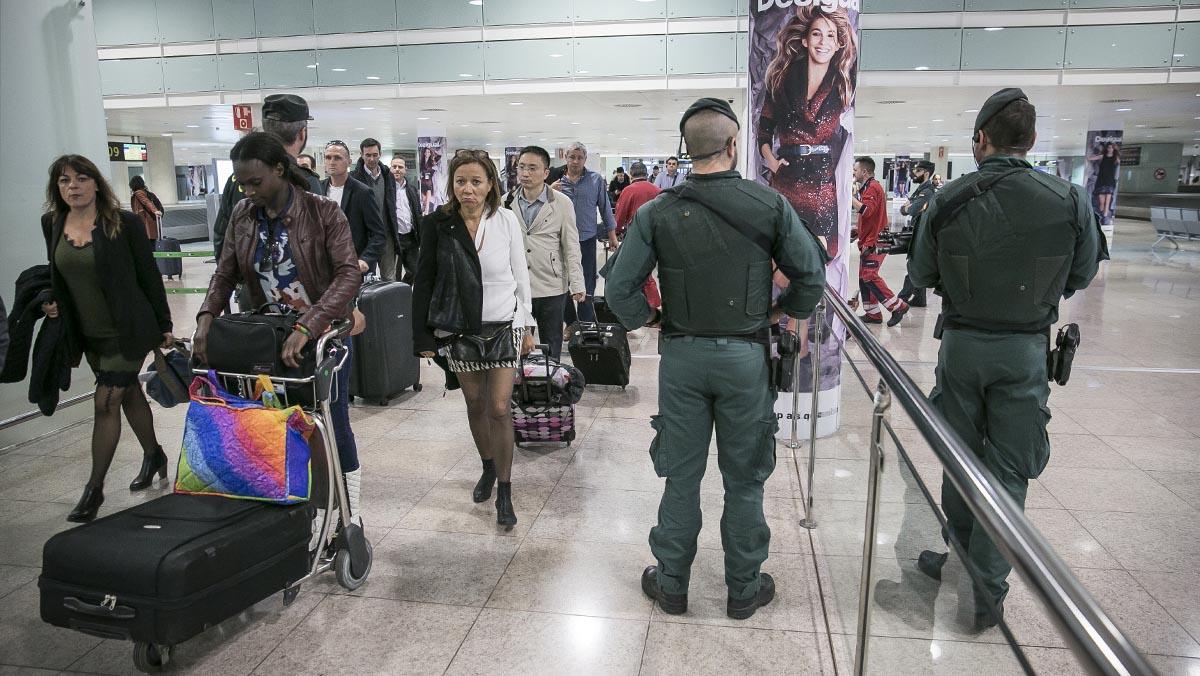 La Guardia Civil reforzará la vigilancia en El Prat