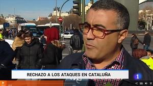 TD-1 imagen de telediario que muestra una manifestacion del 2015 170819162226