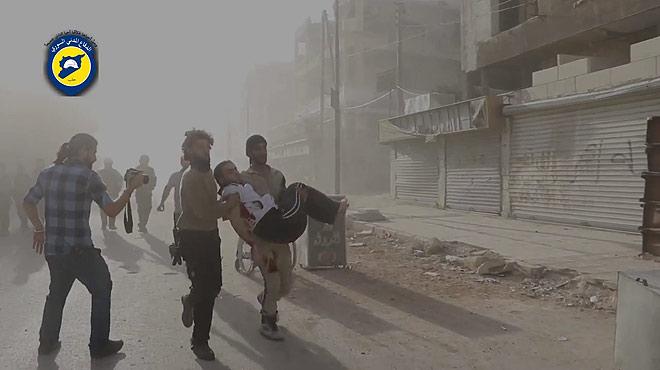 Alep, al l�mit per l'ofensiva d'Assad.