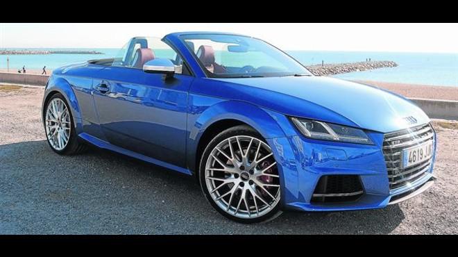 BUENA IMAGEN. El Audi TTS es una de esas proezas del dise�o por la que no pasan los a�os. El modelo ha recibido varios retoques que le permiten seguir siendo de los m�s bonitos del mercado.