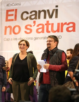 Xavier Domènech, probable candidato de BC, reivindica la soberanía nacional y social
