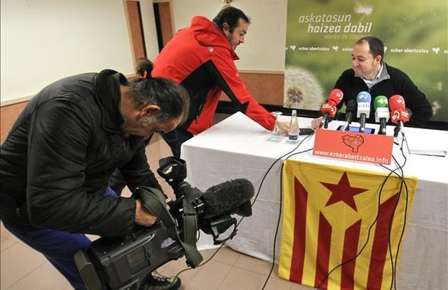 La izquierda aberzale urge al PNV a tomar Catalunya como ejemplo