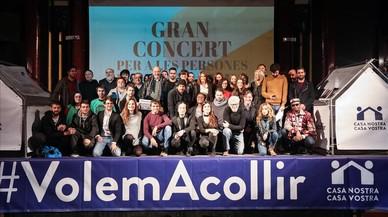 El público responde al concierto prorrefugiados del día 11
