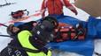 Mercedes Milá se fractura la tibia esquiando