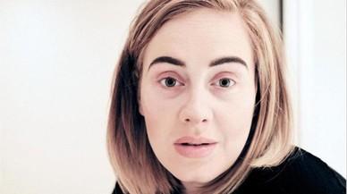 Adele, sense maquillatge
