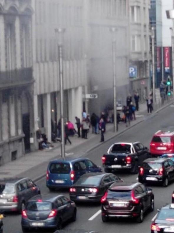 Bruselas, aislada