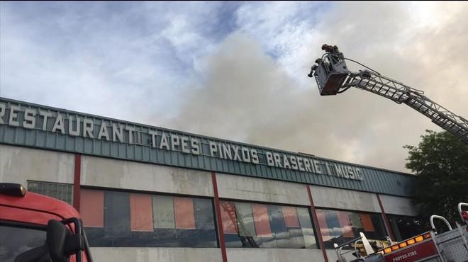 Incendio en el restaurante 'wok' de Cornell�.