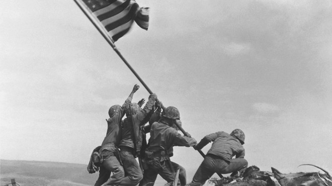 A la bandera d'Iwo Jima, dubtes sobre els seus protagonistes
