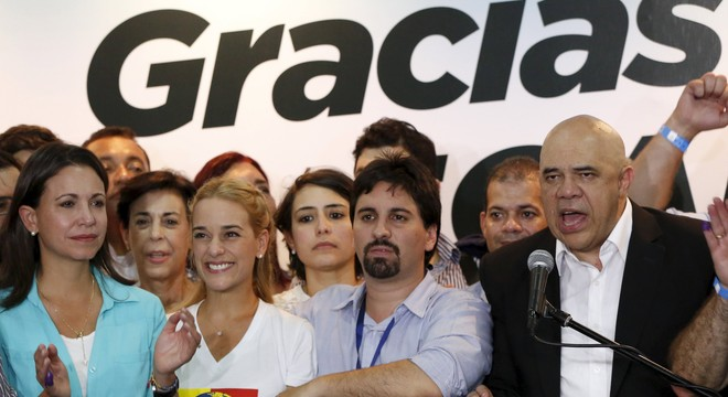 """L'oposició afirma que la seva victòria és """"el començament del canvi"""" a Veneçuela"""