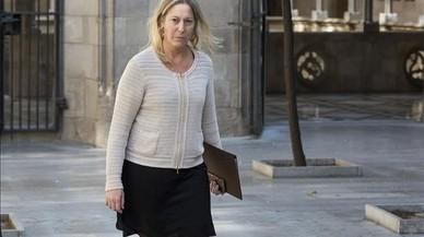 """Munté reconoce que le haría """"ilusión"""" ser alcaldesa de Barcelona"""