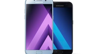 Los nuevos Galaxy A de Samsung (2017).