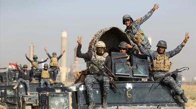 Las tropas iraquís entran en Kirkuk