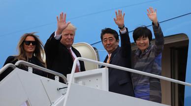 Trump evita estirabots en política exterior