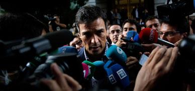 El PSOE exige por carta a sus diputados una abstenci�n en bloque