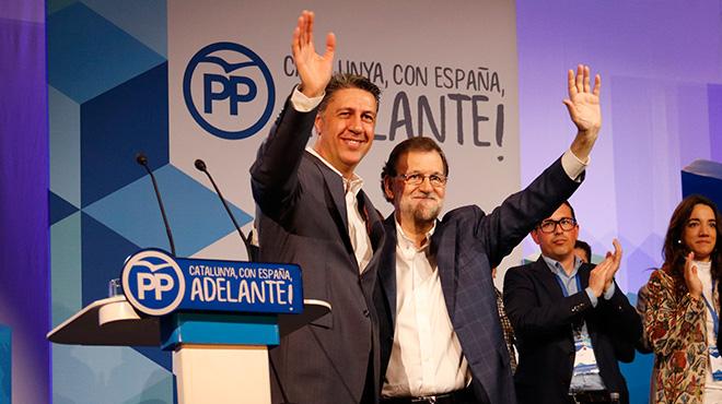 """Rajoy, en Catalunya: """"No se puede contraponer la democracia a la ley"""""""
