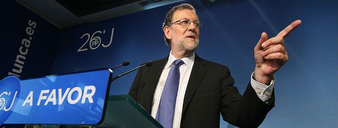 Rajoy ir� a la investidura para tratar de forzar su elecci�n en segunda votaci�n