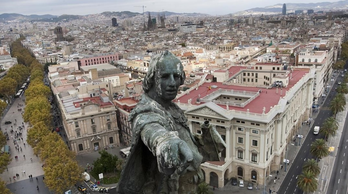 Retirar la estatua de Col�n, sentenciar el pasado con las leyes de hoy
