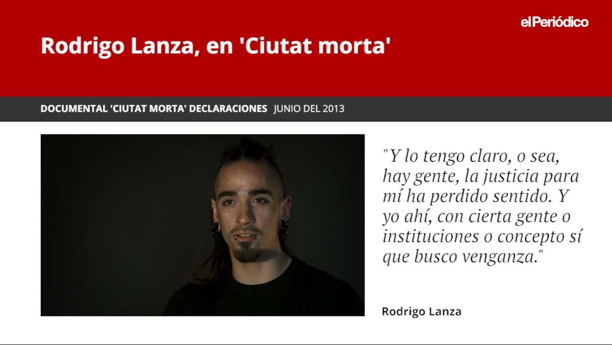Rodrigo Lanza en el documental Ciutat morta