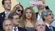 Shakira va vibrar amb la victòria d'Espanya a la semifinal de la Copa Confederacions