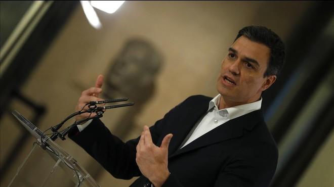 Sánchez exigeix a Rajoy que expliqui el 'cas Soria' al Congrés