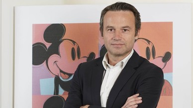 Vincent Sourdeau, vicepresidente y director general de los canales de Disney en Espa�a y Portugal.