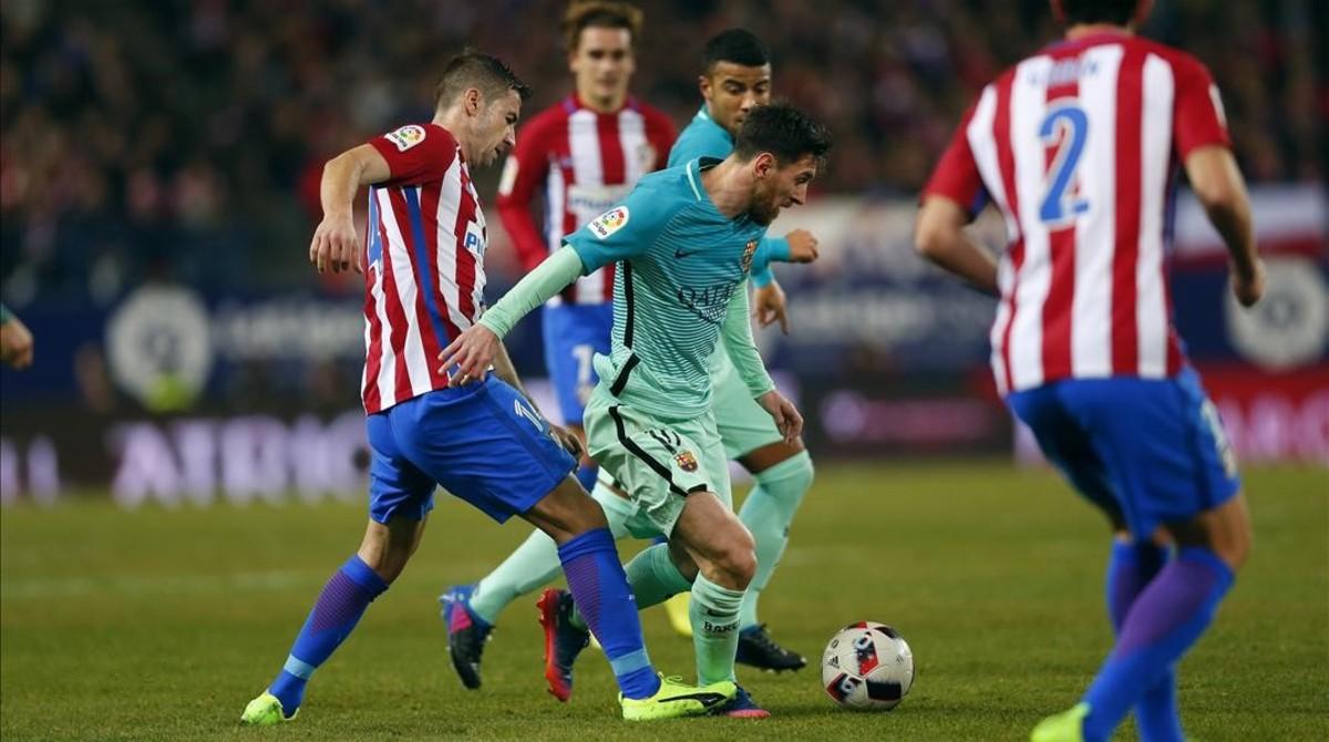 Horari i on veure per TV el FC Barcelona - Atlètic de Madrid de Copa