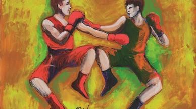 Un boxejador gitano sobre el ring de Hitler