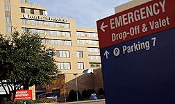 Centro hospitalario donde est� ingresado el enfermo de �bola de EEUU.