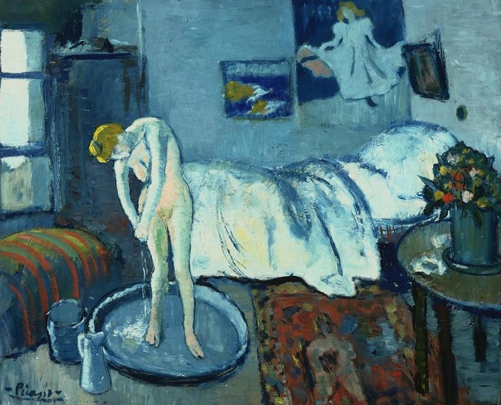 La habitación azul, de Picasso, en CaixaForum.