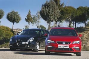 Alfa Romeo GiulIetta 2.0 JTDm-2 vs Seat León FR TDI: el diésel resiste