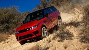 Probamos las prestaciones del Range Rover híbrido en conduccioón off.road.