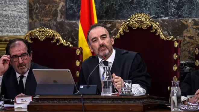 Marchena limita el interrogatorio del fiscal a Trapero