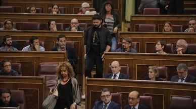 ERC y PDECat estudian marcharse de las instituciones en Madrid
