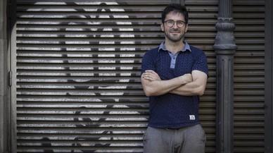 Agus Morales, autor del libro 'No somos refugiados'.
