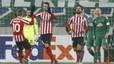 Pleno de los tres equipos españoles en la Liga Europa