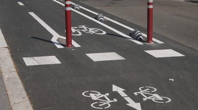 El carril bici de Barcelona suma 20 kilómetros más de infraestructura