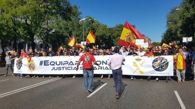 Policías y guardias civiles exigen cobrar lo mismo que mossos y otros cuerpos autonómicos