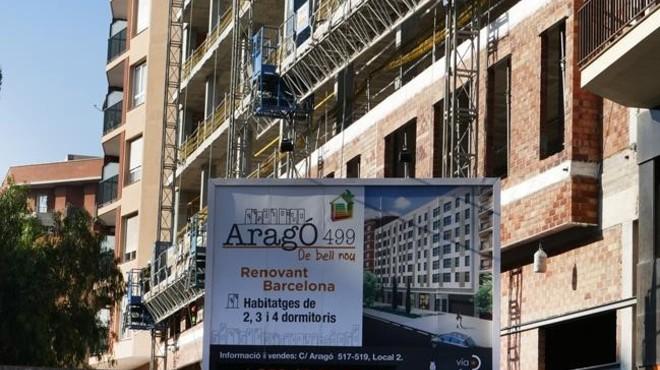 Consulte los precios de los pisos nuevos en BCN