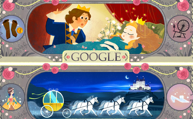 Google homenajea al 'padre' de la 'Cenicienta' y 'La bella durmiente'
