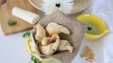 Croissant saludable con masa de yuca