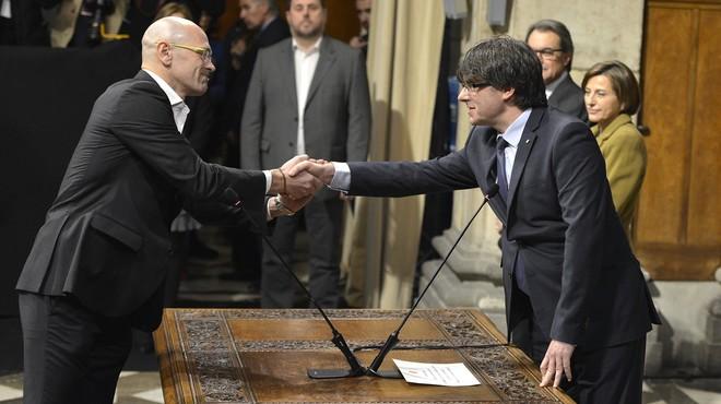 Raül Romeva, davant el repte d'internacionalitzar la causa catalana