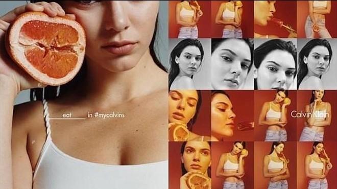 Grandes dosis de sexo en la colecci�n 'Erotica' de Calvin Klein.