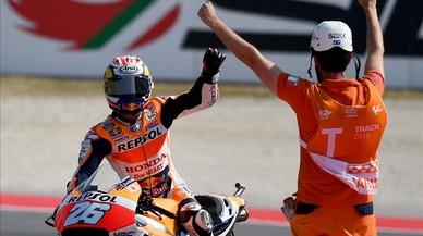 Dani Pedrosa s'imposa al GP de San Marino de MotoGP