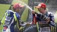 Lorenzo es posa a un punt de Rossi després de guanyar a Montmeló