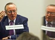 Josep Piqué en un acto cuando presidía el Cercle d'Economia.
