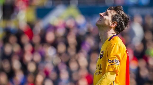 Messi pasa revisiones m�dicas