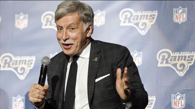 Stan Kroenke, m�ximo accionista del Arsenal y St Louis Rams.