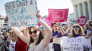 Gran victòria dels defensors de l'avortament al Suprem d'EUA